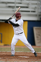 March 22nd 2009:  Third baseman Mason Heyne (39) of the Rider University Broncs during a game at Sal Maglie Stadium in Niagara Falls, NY.  Photo by:  Mike Janes/Four Seam Images