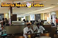Gloria Jean's Coffees shop in Madras, India