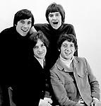 Kinks 1966 Mick Avery, Ray Davies, Pete Quaife and Dave Davies.© Chris Walter.