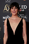 Belen Cuesta attends to 33rd Goya Awards at Fibes - Conference and Exhibition  in Seville, Spain. February 02, 2019. (ALTERPHOTOS/A. Perez Meca)