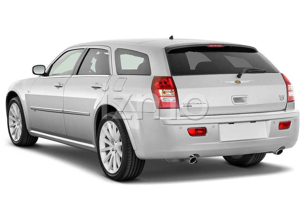 Rear three quarter view of a 2009 Chrysler 300 CRD