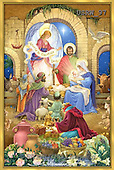 Randy, HOLY FAMILIES, HEILIGE FAMILIE, SAGRADA FAMÍLIA, paintings+++++Glorious-Nativity-Gold-Frame,USRW97,#xr#