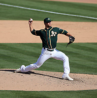 James Kaprielian - Oakland Athletics 2020 spring training (Bill Mitchell)