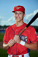 Williamsport Crosscutters shortstop Nick Maton (6) poses for a photo before a game against the Mahoning Valley Scrappers on July 8, 2017 at BB&T Ballpark at Historic Bowman Field in Williamsport, Pennsylvania.  Williamsport defeated Mahoning Valley 6-1.  (Mike Janes/Four Seam Images)