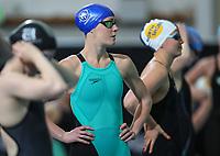 Emma Godwin, 100m Back. New Zealand Short Course Swimming Championships, National Aquatic Centre, Auckland, New Zealand, Wednesday 2nd October 2019. Photo: Simon Watts/www.bwmedia.co.nz/SwimmingNZ