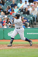 Staten Island Yankees outfielder Exicardo Cayones (50) during game against the Brooklyn Cyclones at MCU Park on June 18, 2012 in Brooklyn, NY.  Brooklyn defeated Staten Island 2-0.  Tomasso DeRosa/Four Seam Images