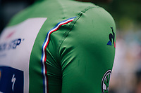 the green jersey of Marcel Kittel (DEU/QuickStep Floors) <br /> <br /> 104th Tour de France 2017<br /> Stage 9 - Nantua › Chambéry (181km)