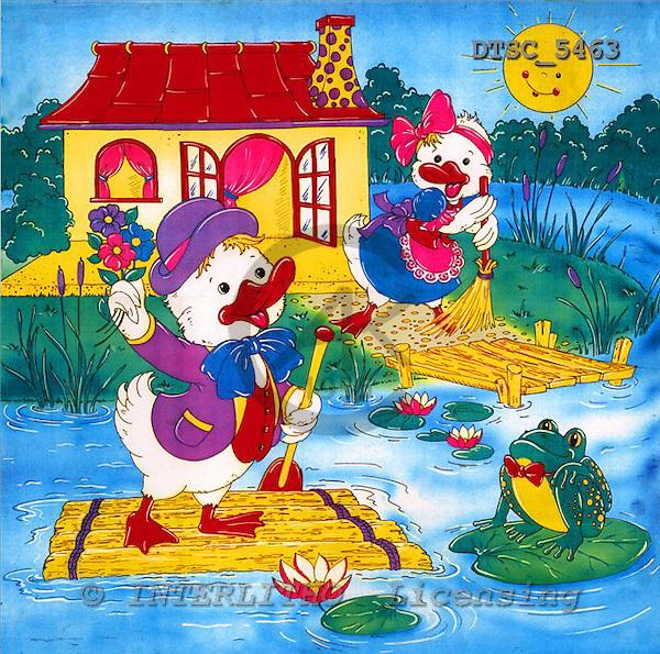 Hans, CUTE ANIMALS, paintings+++++,DTSC5463,#AC# deutsch, illustrations, pinturas