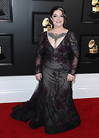 LOS ANGELES - JANUARY 26:  Ashley McBryde at the 62nd Annual Grammy Awards on January 26, 2020 in Los Angeles, California. (Photo by Xavier Collin/PictureGroup)