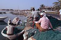 Vereinigte arabische Emirate (VAE, UAE), Fischer in Umm al Qaiwain