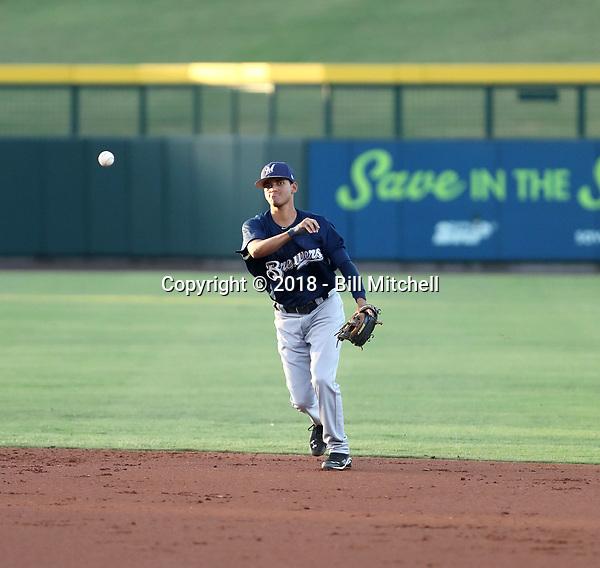Luis Avila - 2018 AZL Brewers (Bill Mitchell)