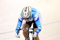Bryony Botha at the BikeNZ Elite & U19 Track National Championships, Avantidrome, Home of Cycling, Cambridge, New Zealand, Sunday, March 16, 2014. Credit: Dianne Manson