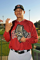 Feb 25, 2010; Kissimmee, FL, USA; The Houston Astros pitcher Wilton Lopez (59) during photoday at Osceola County Stadium. Mandatory Credit: Tomasso De Rosa / Four Seam Images