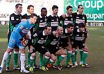 Madrid (03/03/2012).-Campo de Futbol de Vallecas..Liga BBVA..Rayo Vallecano-Real Racing Club..Alineacion del Racing...©Alex Cid-Fuentes.......