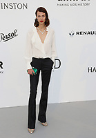 AYMELINE VALADE<br /> amfAR Gala Cannes 2017 - Arrivals<br /> CAP D'ANTIBES, FRANCE - MAY 25 arrives at the amfAR Gala Cannes 2017 at Hotel du Cap-Eden-Roc on May 25, 2017 in Cap d'Antibes, France