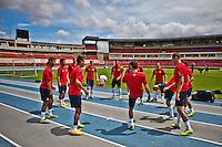USMNT Training Panama, October 14, 2013