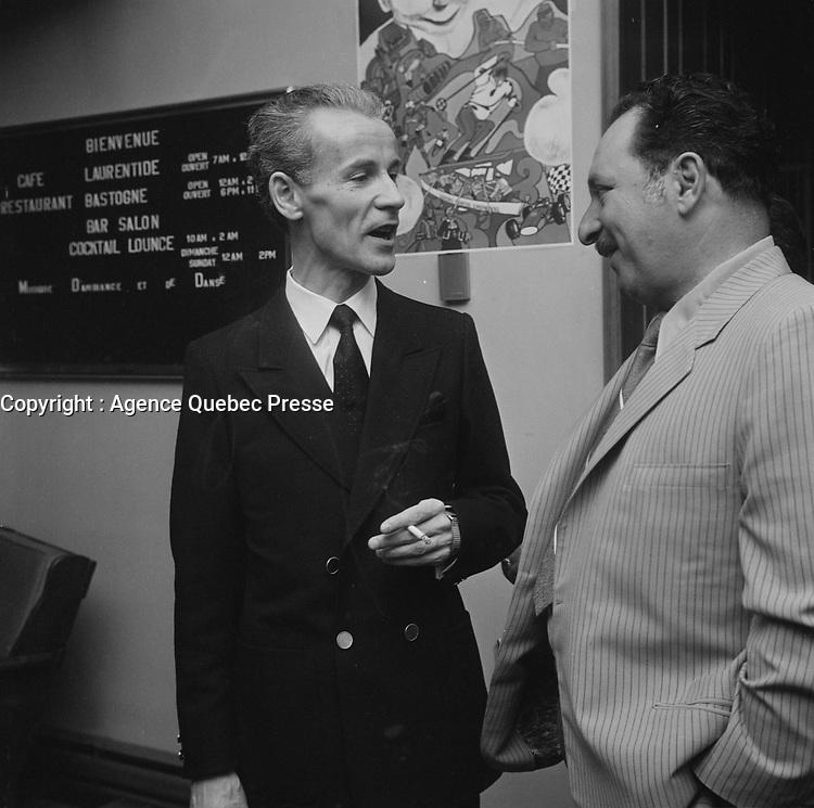 Jean-Noel tremblay,29 Juin 1960<br /> <br /> PHOTO  : Agence Quebec Presse - Photo Moderne