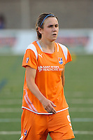 Heather O'Reilly (9) of Sky Blue FC. Sky Blue FC defeated the Boston Breakers 2-1 during a WPS regular season match at Harvard Stadium in Boston, MA, on July 12, 2009.