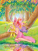 Interlitho, Lorella, FANTASY, paintings, elf, forest, KL, KL4102,#fantasy# illustrations, pinturas