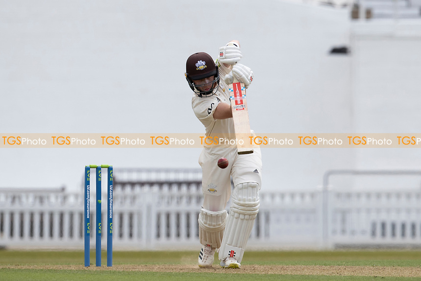 Ollie Pope of Surrey CCC drives through Extra cover during Surrey CCC vs Hampshire CCC, LV Insurance County Championship Group 2 Cricket at the Kia Oval on 30th April 2021