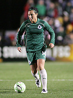 Melissa Tancredi.Saint Louis Athletica were defeated 1-0 by Chicago Red Stars.