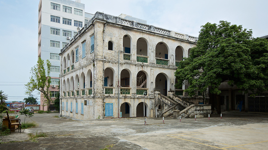 Custom House In Beihai (Pakhoi), Built In 1883.