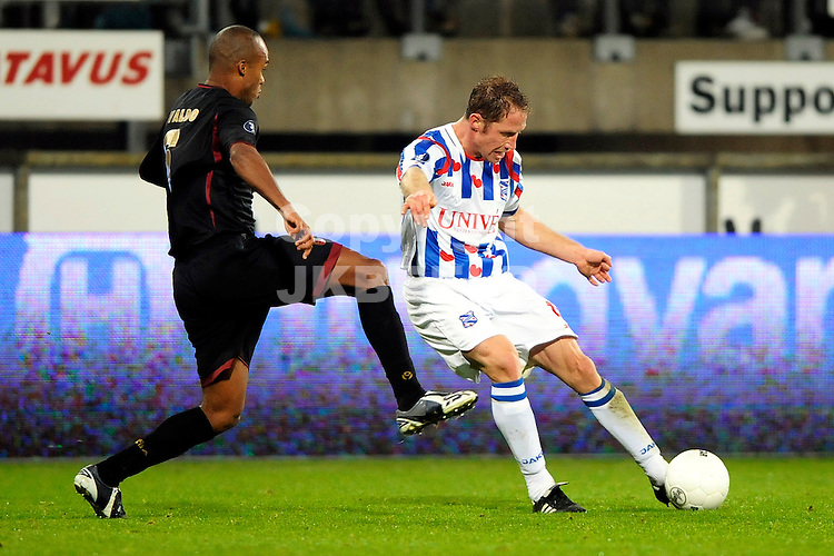 voetbal sc heerenveen - sporting braga uefa cup seizoen 2008-2009 04-12-2008 michel breuer .fotograaf jan kanning.