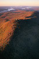 Mount Greylock aerial view, Berkshires, Adams, MA