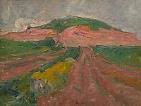 ActiveMuseum_0000086.jpg / The Kamnitinik Mount under the Rain - Rihard Jakopic (1903) - <br />06/06/2013  -   / 20th century<br />Active Museum / Le Pictorium