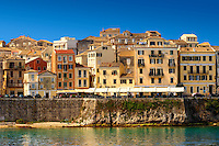 The UNESCO World Hertitage Corfu Old Town , Greek Ionian Islands