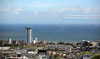 Swansea, UK. Saturday 02 July 2016<br />