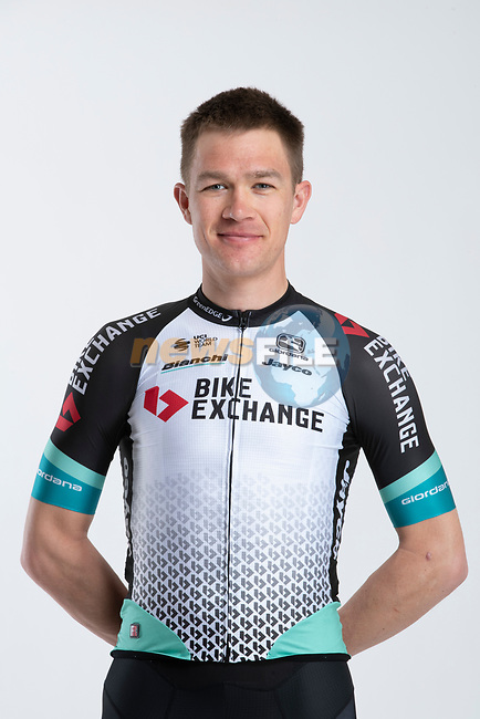 Chris Juul Jensen (DEN/IRL) Team BikeExchange men's squad potrait, Spain. 22nd January 2021.<br /> Picture: Sara Cavallini/GreenEDGE Cycling | Cyclefile<br /> <br /> All photos usage must carry mandatory copyright credit (© Cyclefile | Sara Cavallini/GreenEDGE Cycling)