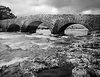 The enchanted waters that flow under the Old Sligachan Bridge is said to give one eternal beauty if you dip your face into the cold stream.