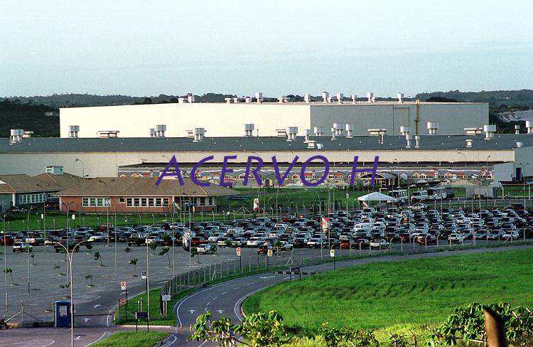 Fábrica da Ford instalada no polo industrial do município de Camaçarí na Bahia montada para produção dos modelos Ecosport e Fiesta.<br />Foto Paulo Santos/Interfoto<br />09/06/2003