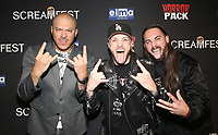 HOLLYWOOD, CA - OCTOBER 12: Bad Wolves, at the 21st Screamfest Opening Night Screening Of The Retaliators at Mann Chinese 6 Theatre in Hollywood, California on October 12, 2021. Credit: Faye Sadou/MediaPunch