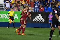 Spain's Amanda Sampedro during the match of  European Women's Championship 2017 at Leganes, between Spain and Finland. September 20, 2016. (ALTERPHOTOS/Rodrigo Jimenez) NORTEPHOTO