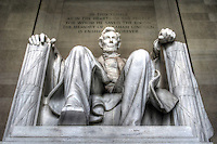 Lincolcn Memorial Washington DC Washington DC Art - - Framed Prints - Wall Murals - Metal Prints - Aluminum Prints - Canvas Prints - Fine Art Prints Washington DC Landmarks Monuments Architecture