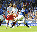 30/05/2009  Copyright  Pic : James Stewart.sct_jspa_34_rangers_v_falkirk.SCOTT ARFIELD SHOOTS AT GOAL.James Stewart Photography 19 Carronlea Drive, Falkirk. FK2 8DN      Vat Reg No. 607 6932 25.Telephone      : +44 (0)1324 570291 .Mobile              : +44 (0)7721 416997.E-mail  :  jim@jspa.co.uk.If you require further information then contact Jim Stewart on any of the numbers above.........