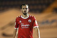 Jack Powell of Crawley Town during Colchester United vs Crawley Town, Sky Bet EFL League 2 Football at the JobServe Community Stadium on 1st December 2020