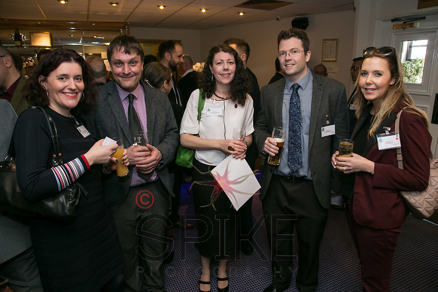 From left are Natasha McCracken of McCracken Consultancy, Scott Straughan of Mixed Realities, Finola Brady of Finola Brady Architectural Services, Brendan Lee of Buckles Solicitors Fiona Duncan of RSVIP Network