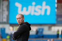 LEEDS, ENGLAND - AUGUST 31: Swansea City manager Steve Cooper stands in the technical area during the Sky Bet Championship match between Leeds United and Swansea City at Elland Road on August 31, 2019 in Leeds, England. (Photo by Athena Pictures/Getty Images)