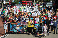 """19.09.2015 - """"March Against Evictions"""""""