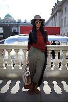 London Fashion Week Street Style Portrait