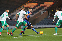 Brad Inman (Rochdale AFC)  during the Sky Bet League 1 match between Rochdale and Plymouth Argyle at Spotland Stadium, Rochdale, England on 15 December 2018. Photo by James  Gill / PRiME Media Images.