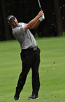11th July 2021, Silvis, IL, USA; Charles Howell hits his second shot on the #6 fairway during the final round of the John Deere Classic on July 11, 2021, at TPC Deere Run, Silvis, IL.