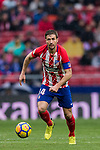 Gabriel Fernandez Arenas, Gabi, of Atletico de Madrid in action during the La Liga 2017-18 match between Atletico de Madrid and Getafe CF at Wanda Metropolitano on January 06 2018 in Madrid, Spain. Photo by Diego Gonzalez / Power Sport Images