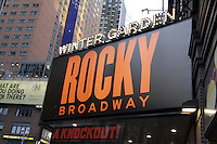 Broadway's Rocky on April 25, 2014 . (Photo by Sue Coflin/Max Photos)
