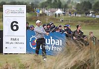 Sunday 31st May 2015; Padraig Harrington, Ireland, on the 7th tee box<br /> <br /> Dubai Duty Free Irish Open Golf Championship 2015, Round 4 County Down Golf Club, Co. Down. Picture credit: John Dickson / DICKSONDIGITAL
