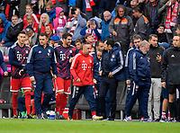 16.09.2017,  Football 1.Liga 2017/2018, 4. match day, FC Bayern Muenchen - 1.FSV Mainz 05, in Allianz-Arena Muenchen. Franck Ribery (FC Bayern Muenchen) geht in die Kabine in der Halbzeit. *** Local Caption *** © pixathlon<br /> <br /> +++ NED + SUI out !!! +++<br /> Contact: +49-40-22 63 02 60 , info@pixathlon.de