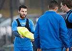 St Johnstone Training….31.03.17<br />Richie Foster pictured training on the astroturf at McDiarmid Park this morning ahead of tomorrow's game at Hamilton.<br />Picture by Graeme Hart.<br />Copyright Perthshire Picture Agency<br />Tel: 01738 623350  Mobile: 07990 594431